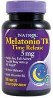 Melatonin TR 5 mg Time Release 100 Tabs