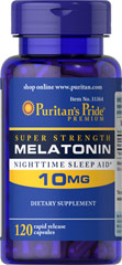 Melatonin 10mg - 120 Capsules