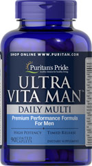 Ultra Man TR - Multivitamines - 90 Comprimés