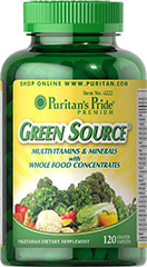 Green Source Multi Vitamin Complex 120 Tablets