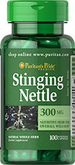 Stinging Nettle - Ortie 300 mg 100 Capsules