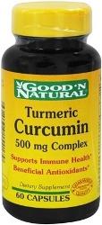 Turmeric Curcumin - 500 mg - 60 Capsules