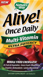 Alive! Multi Vitamin Ultra Potens 60 Tabletter