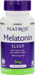 Melatonin TR 5 mg Time Release 100 Tabletter