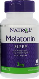 Melatonin Natrol 3mg 240 tabletter