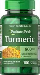 Turmeric - Gurkemeje 800 mg 100 Kapsler