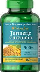 Turmeric Curcumin - 500 mg - 90 Capsules