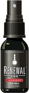 Renewal HGH Workout for Men - Oral Spray 30 ml