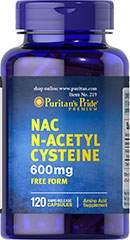 N-Acetyl Cysteine 600 mg 120 Capsules