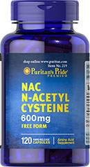 N-Acetyl Cysteine 600 mg 120 Kapsler