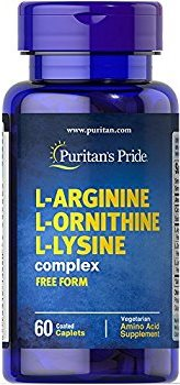 L-Arginin L-Ornithin L-Lysin 60 Tabletter