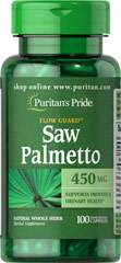 Saw Palmetto 450 mg 100 Kapsler