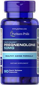 Pregnenolone 50 mg - 90 Kapsler