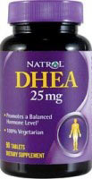 DHEA Natrol 25 mg 300 Tabletter