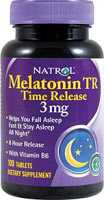 Melatonina 3 mg TR Time Release  - 100 Comprimido